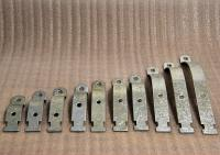 Various Clamps Sizes 1114 to 1126