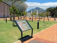 Information Signage At Cape Town Stadium