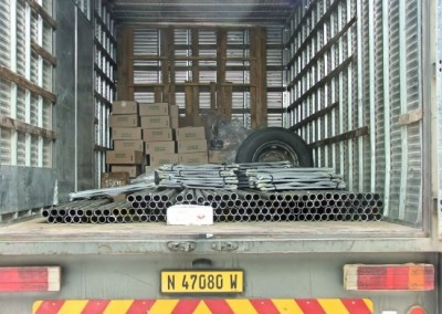 Loading of Export Order