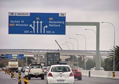 Tablebay Boulevard Sign erected