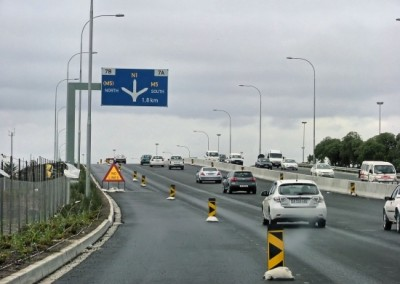 Tablebay Boulevard Signs erected